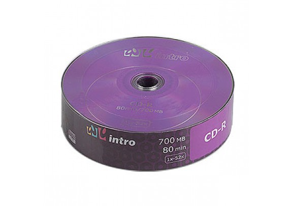 CD-R Intro 700 Mb/52x/Shrink/25шт