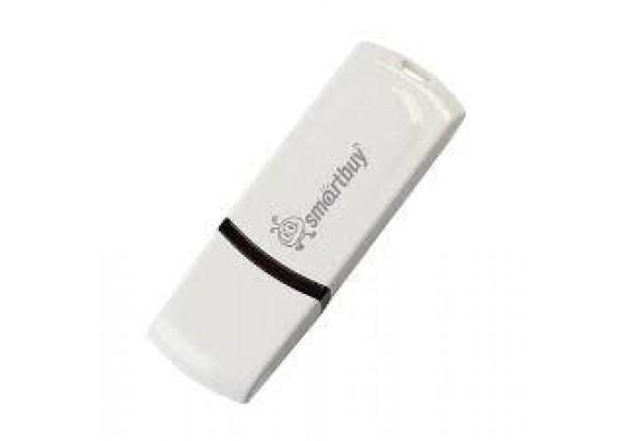 Флэш накопитель Smart Buy 16Gb Paean White