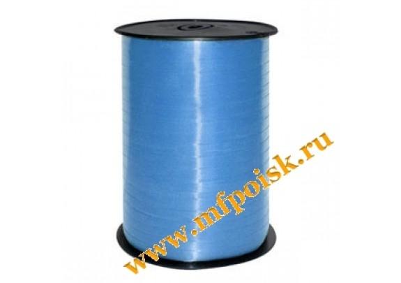 Лента Декоративная 5мм*500м  голубая