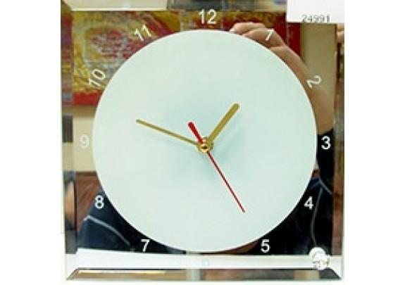 Часы стекло 20*20/BL-14