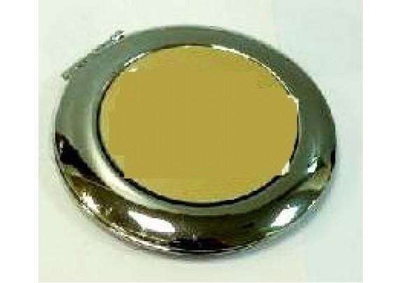 Зеркало НТ013 металл/круг/6см