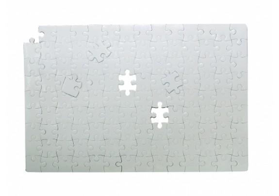 Пазлы 3D двухсторонний/белые/12,7*12,7см/16 элем