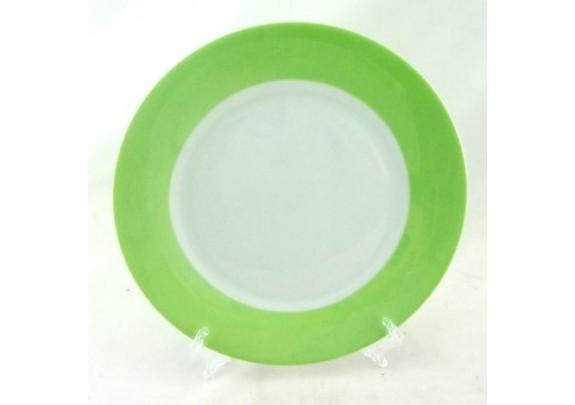 Тарелка Белая./19см/LQSM8-L/св.зелен/коробка/подст