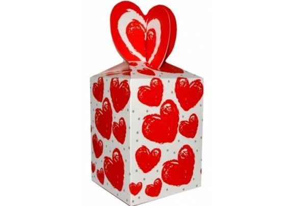 Коробка 125 Сердечки-1