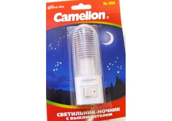 Ночник CAMELION NL-006 (выкл, 7W, 220)
