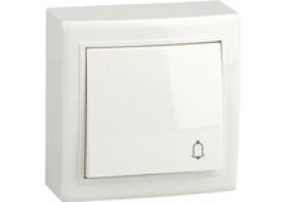 Выключатель Кнопка Solar V01-31-Z11-S  белая
