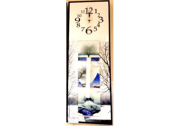 Часы FC-B038  МДФ/стекло/25*76см