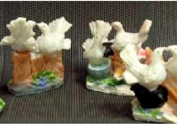 Фигурка 0331 Пара голубей 7,5*8*5