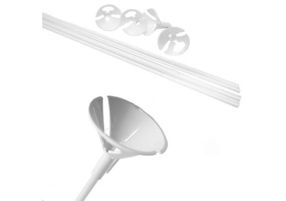 Комплект Палочка 54см+Зажим Белый