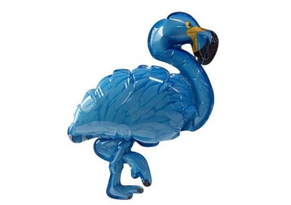 Шар-самодув Фламинго BLUE 20см
