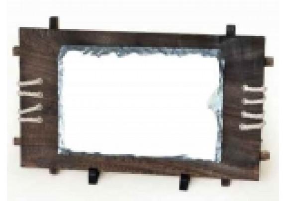 Камень SH39  17*25см/в деревянной раме
