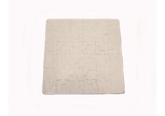 Пазлы 3D двухсторонний/белые/16*16см/20 элементов