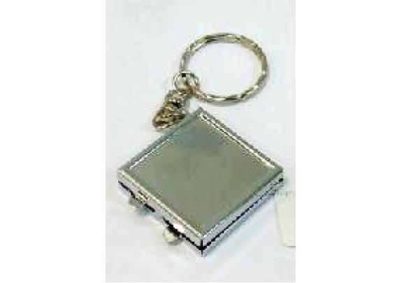 Зеркало НТ012 металл/квадрат/5см