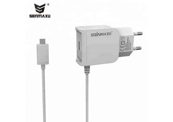 Зарядное устр. SENMAXU SMX-012 iPhone 5-8+USB/2,1A