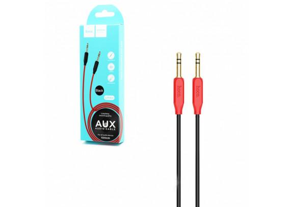 Аудио-кабель JACK  3,5мм HOCO UPA11/1м/черн