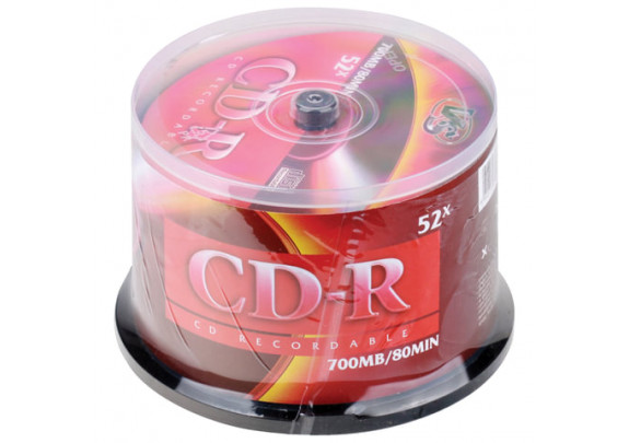 CD-R VS 700 Mb/52x/Cake/50шт