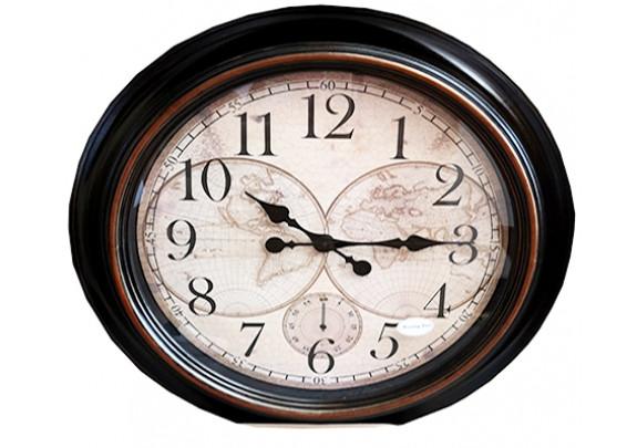 Часы 24-1 пластик/ 60см