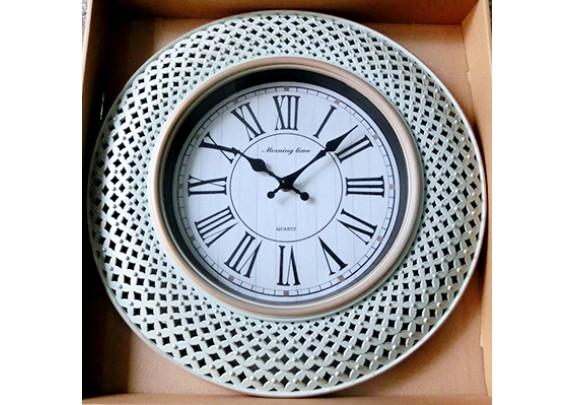 Часы 8523A пластик/51см