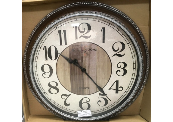 Часы 8587B пластик/55см