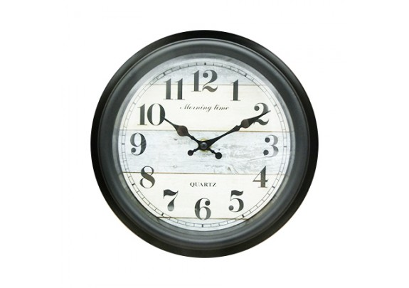 Часы 8648B пластик/23см
