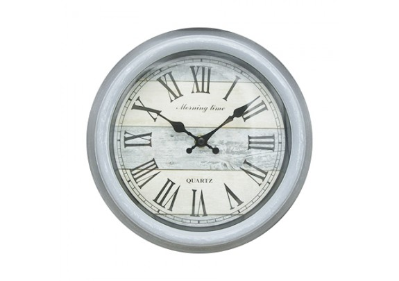 Часы 8649A пластик/23см