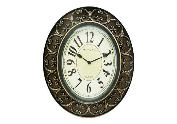 Часы 8654B пластик/25*30см