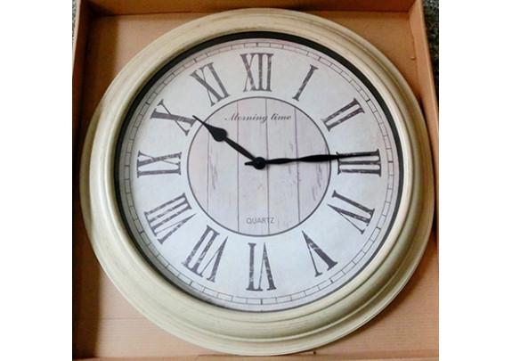Часы 8728A Классика/пластик/82см
