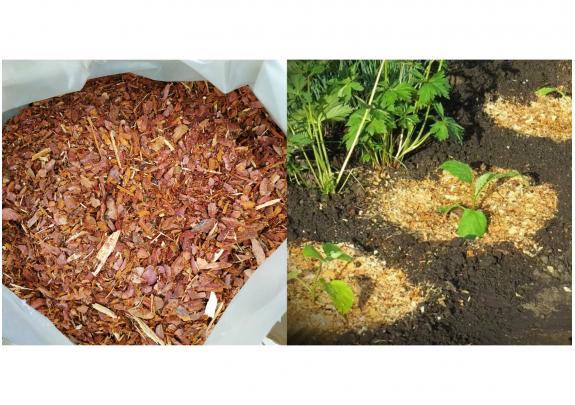 Кора лиственницы 0-3см 60л/мелкая