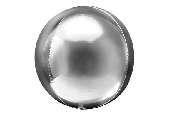 Шар-Пластик/Сфера 45см SILVER