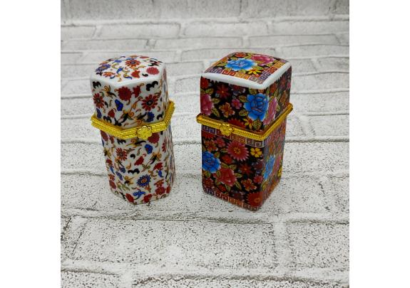 Шкатулка 6789-9 керамика