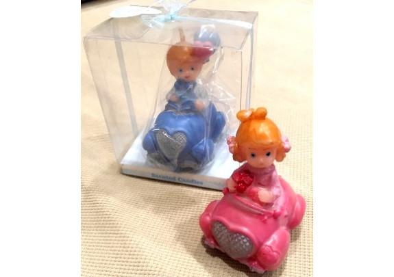Свеча 4693 Малыши/подар.упаковка/10*9*6см