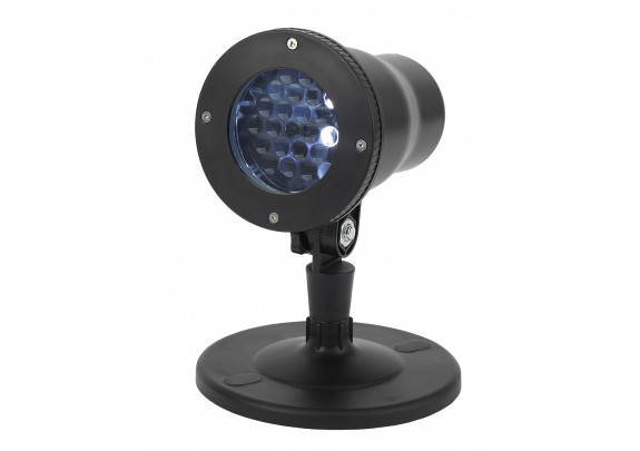 Проектор LED Эра Снежинки/мультирежим/220V/IP44