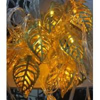 Электрогирлянда металл Лист/TYD0220LED/3,5м/жел