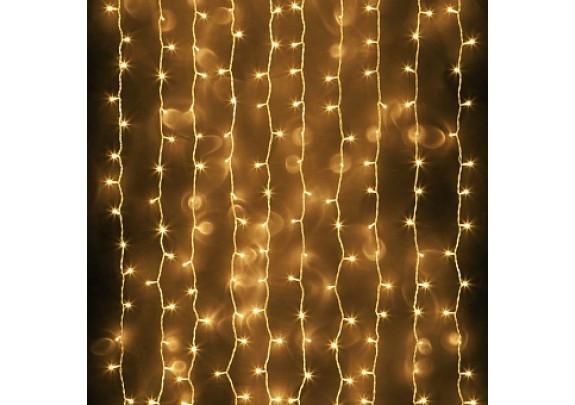 Гирлянда-занавес G2019-10 LED/100L/бел/2*0,5м/бел