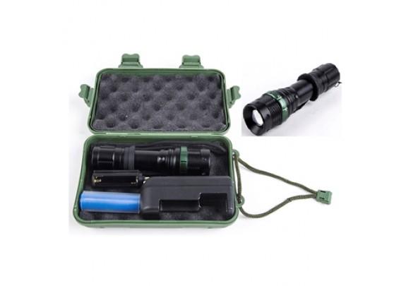 Фонарь Ultra Flash LED E142 CREE 3W 250Лм ZOOM бл