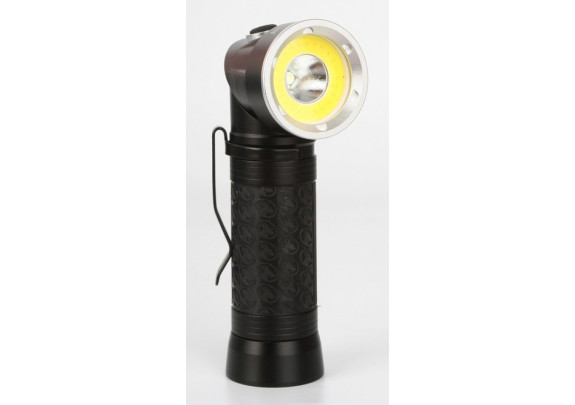 Фонарь CAMELION LED51519  LED3W+3W/COB+red/3xLR