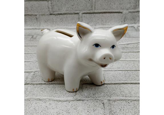 Копилка DIN3144 Свинка 12,3х6х9,3см