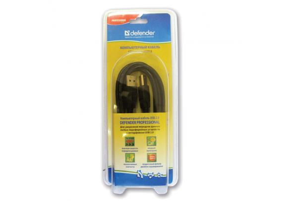 Кабель DEFENDER USB04-06PRO AM-BM/1,8м