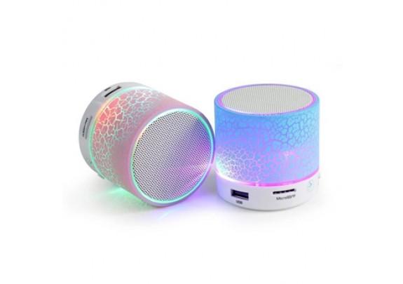 Акустическая система S10 LED Bluetooth/microSD/асс
