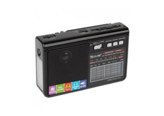 Радиоприемник NS-017 USB/SD/SDmicroFM/черн