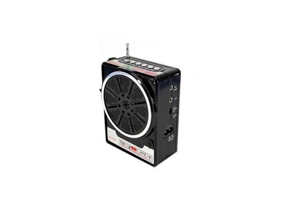 Радиоприемник NS-048 USB/SD/SDmicroFM/черн