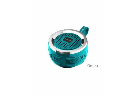 Акустическая система Borofone BR2 Bluetooth/зелен