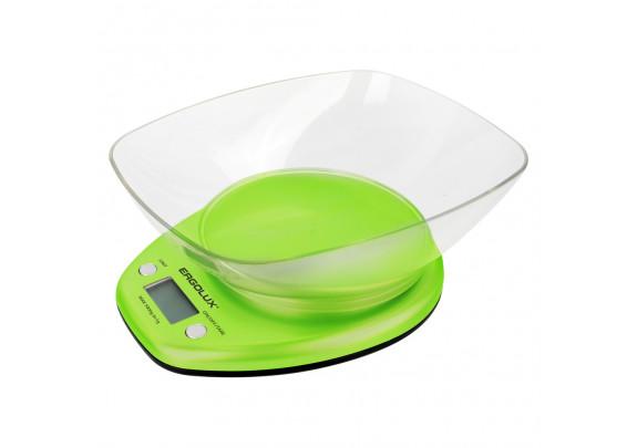 Весы кухонные ERGOLUX ELX-SK04-C16 салат съем/чаша