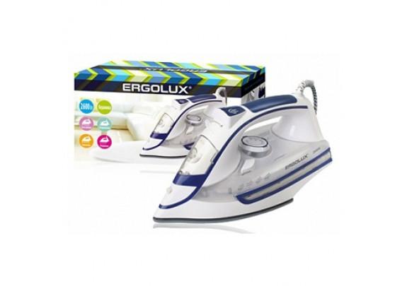 Утюг ERGOLUX ELX-SI03-C35 бел-син.пар керам 2600W