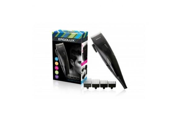 Машинка д/стриж.волос ERGOLUX ELX-HC01-C48/чер/15W