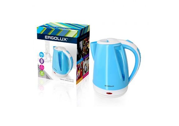 Чайник ERGOLUX ELX-KP02-C35 голу.пласт. 1,8л 2300W