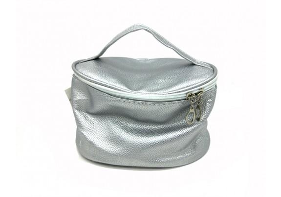 Косметичка-сундучок SUM703a  серебро