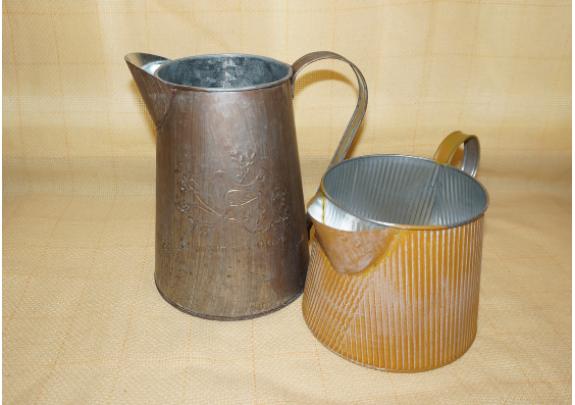 Кашпо 0381-4 Кувшин/металл