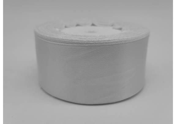 Лента 008 атлас/ш=4см/д=23м/белый