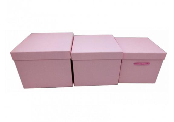 Коробка 0396P-b  Классика/19*19*17см